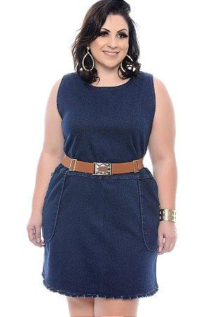 Vestido Jeans Plus Size Suelyne