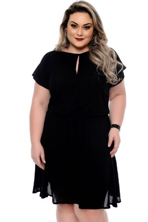 Vestido Plus Size Lisnya