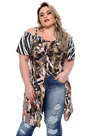 Blusa Plus Size Harumi