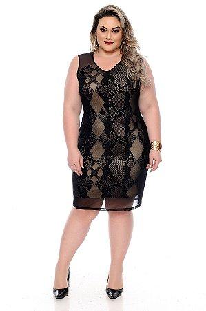Vestido Plus Size Grethyn