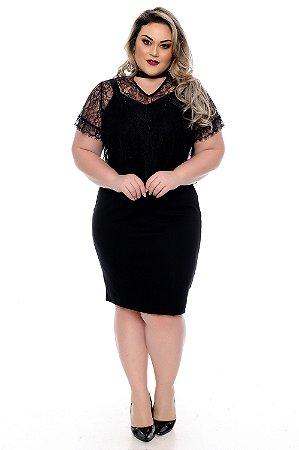 Vestido 2 em 1 Plus Size Izolda