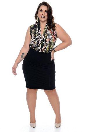 Vestido Plus Size Sidely