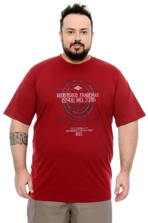 Camiseta Masculina Plus Size Dinis