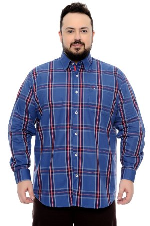 Camisa Xadrez Plus Size Egon