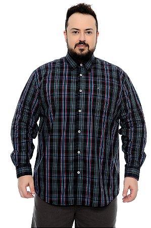 Camisa Xadrez Plus Size Edgar