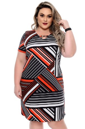 Vestido Plus Size Renally