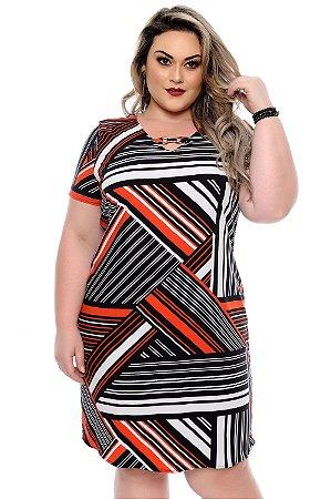 Vestido Plus Size Renally