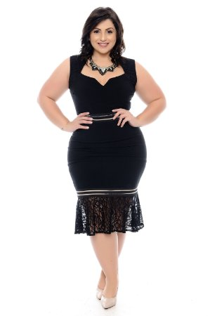 Vestido Plus Size Brunie