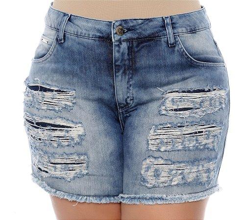 Shorts Jeans Plus Size Elyette
