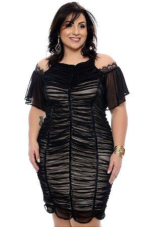 Vestido Plus Size Edilay