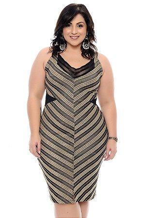 Vestido Plus Size Dyara
