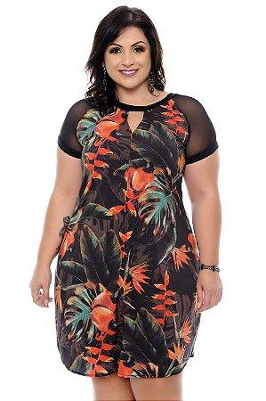 Vestido Plus Size Shizue