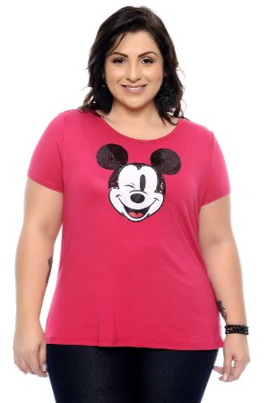 T-Shirts Plus Size Fashion Pink