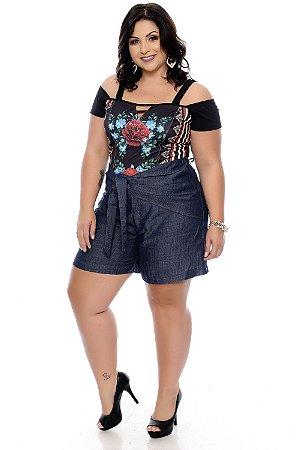 a526e2b5c Shorts Plus Size Janda | Daluz Plus Size - Loja Online - Daluz Plus ...