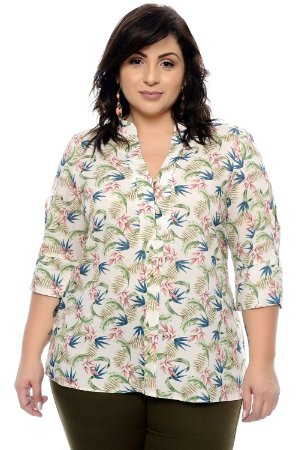 Camisa Plus Size Weid