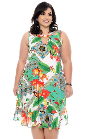 Vestido Plus Size Mycal