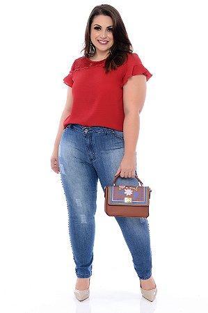 Blusa Plus Size Ayche