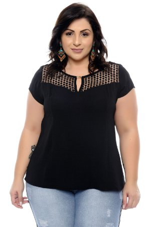Blusa Plus Size Saloeh