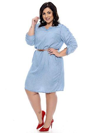 Vestido Plus Size Glety