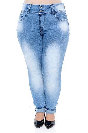Calça Skinny Jeans Plus Size Sione