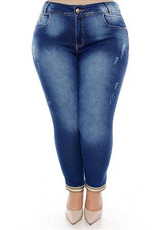 Calça Skinny/Capri Plus Size Merli