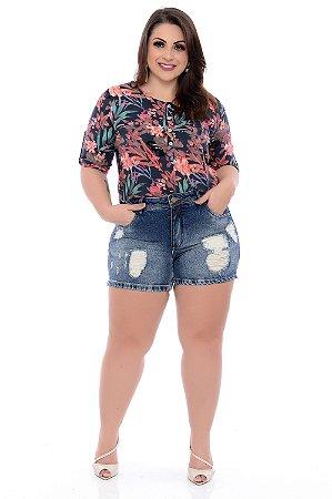 Shorts Jeans Plus Size Chulys