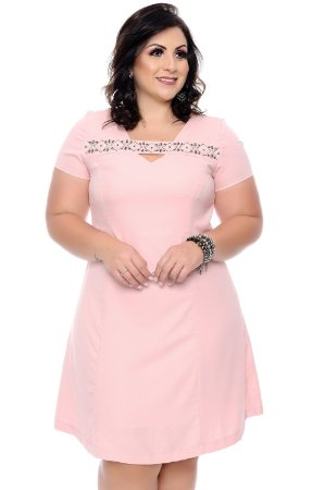 Vestido Plus Size Saletty