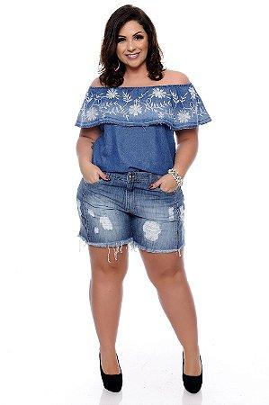 Blusa Plus Size Marcyne