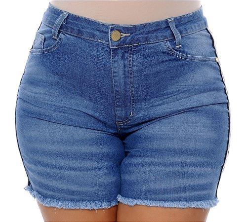 Shorts Jeans Plus Size Salatti