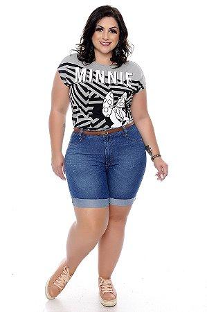 Bermuda Jeans Plus Size Cadoni