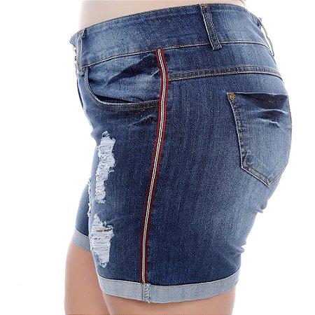 Shorts Jeans Plus Size Vandaah