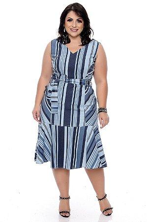 Vestido Plus Size Rosanah