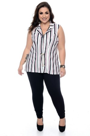 Colete Plus Size Nelley