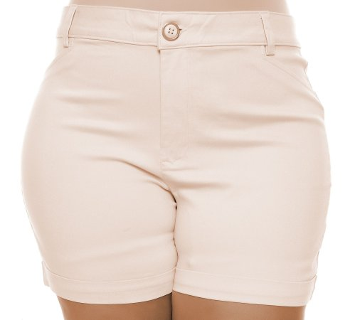 Shorts Plus Size Vaulete