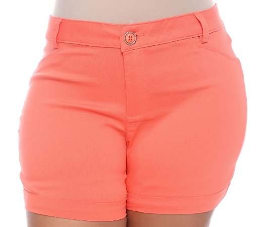 Shorts Plus Size Elzany