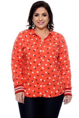 Camisete Plus Size Elisa
