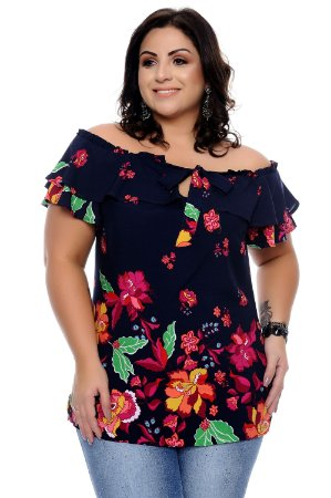 Blusa Plus Size Susana