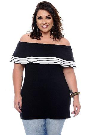 Blusa Plus Size Agdha