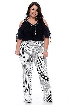 Blusa Plus Size Jhanaina