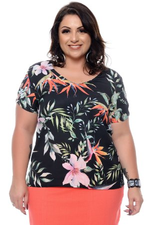 Blusa Plus Size Isolete