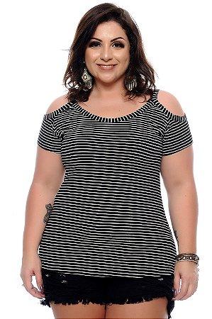 Blusa Plus Size Hiromi