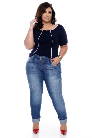 Blusa Plus Size Marulli