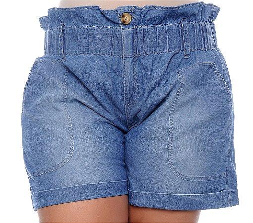 Shorts Jeans Plus Size Teyla