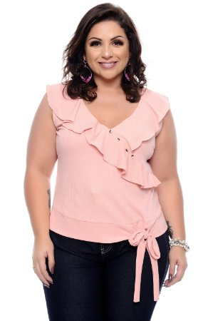 Blusa Plus Size Mariel