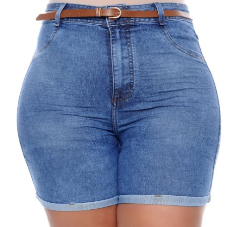 Shorts Jeans Plus Size Dilvany