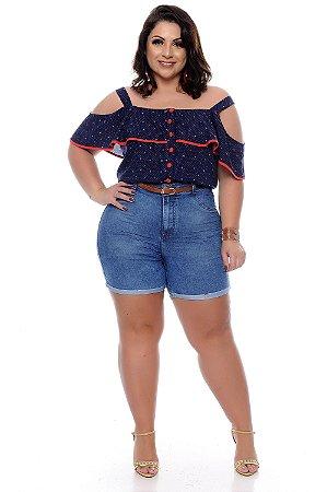 Shorts Jeans Plus Size Dilvany