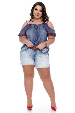 Shorts Jeans Plus Size Shimone