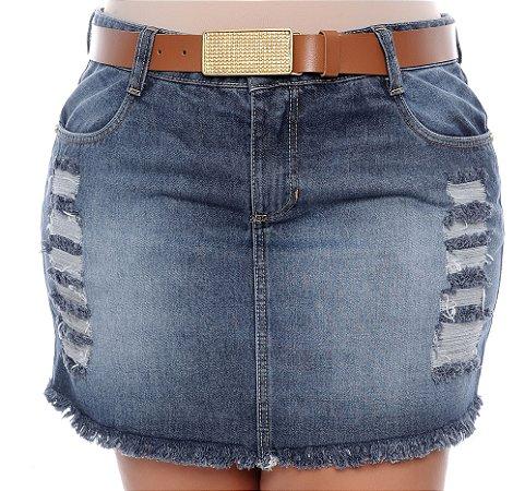 Saia Jeans Plus Size Allexa