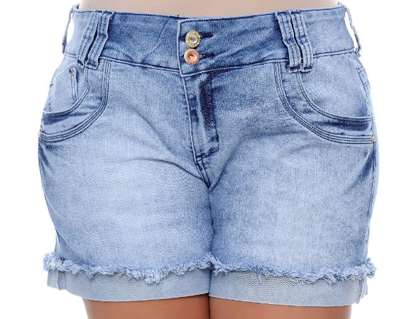 Shorts Jeans Plus Size Delyn