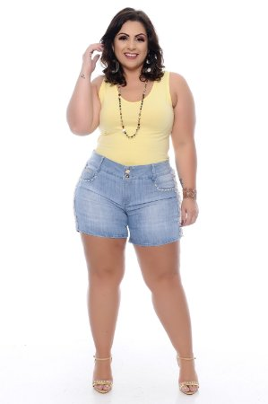 Shorts Jeans Plus Size Byrone